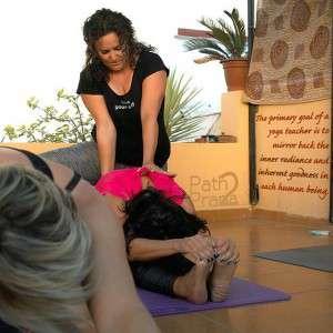 Yogaunterricht auf der Dachterrasse in El Palo Malaga