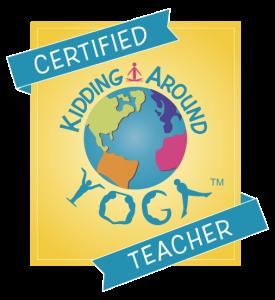 Kidding Around Yoga Certificacion