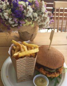Vegan Burger at Ohana