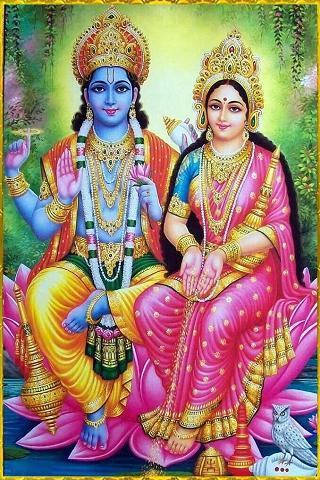 Vishnu&Lakshmi