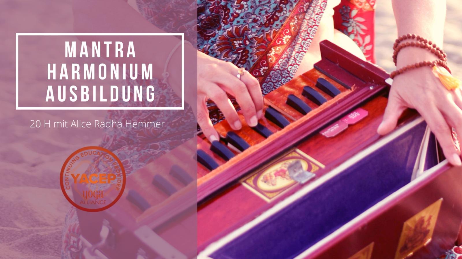 Harmonium Ausbildung